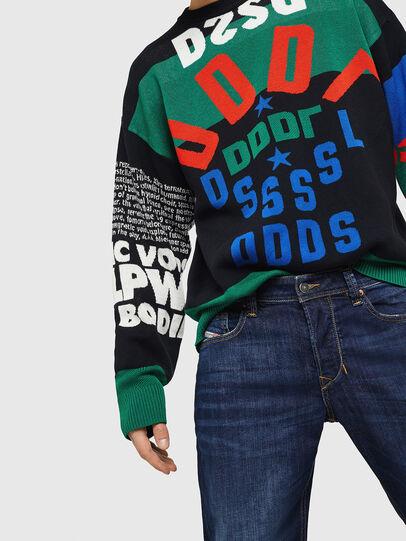 Diesel - Larkee-Beex 082AY, Blu Scuro - Jeans - Image 3