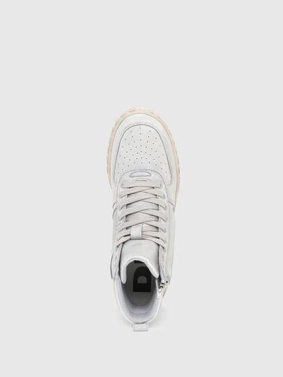 Diesel - S-RUA MID SK, Bianco - Sneakers - Image 5