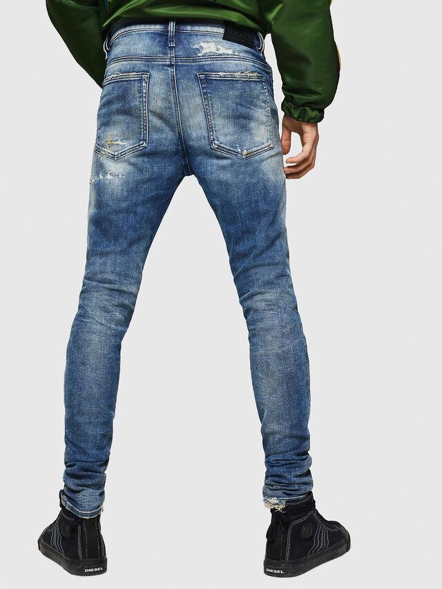 Diesel - D-Reeft JoggJeans 0870Q, Blu medio - Jeans - Image 2