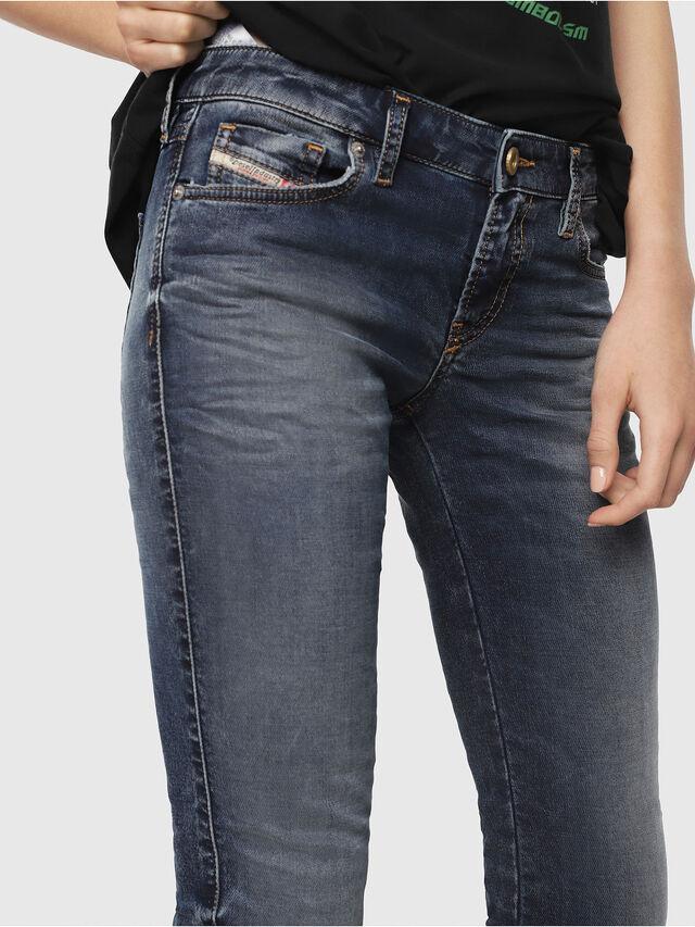Diesel - Gracey JoggJeans 069FG, Blu medio - Jeans - Image 3
