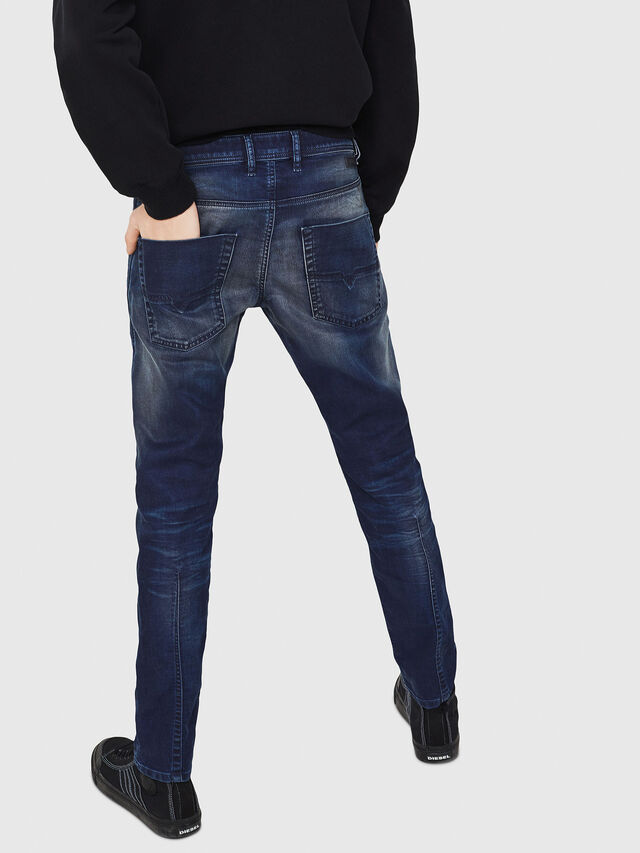 Diesel - Krooley JoggJeans 069GZ, Blu Scuro - Jeans - Image 2