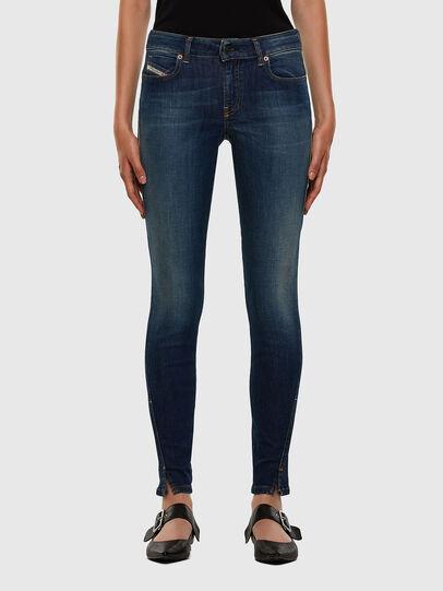 Diesel - D-Jevel 009HL, Blu Scuro - Jeans - Image 1