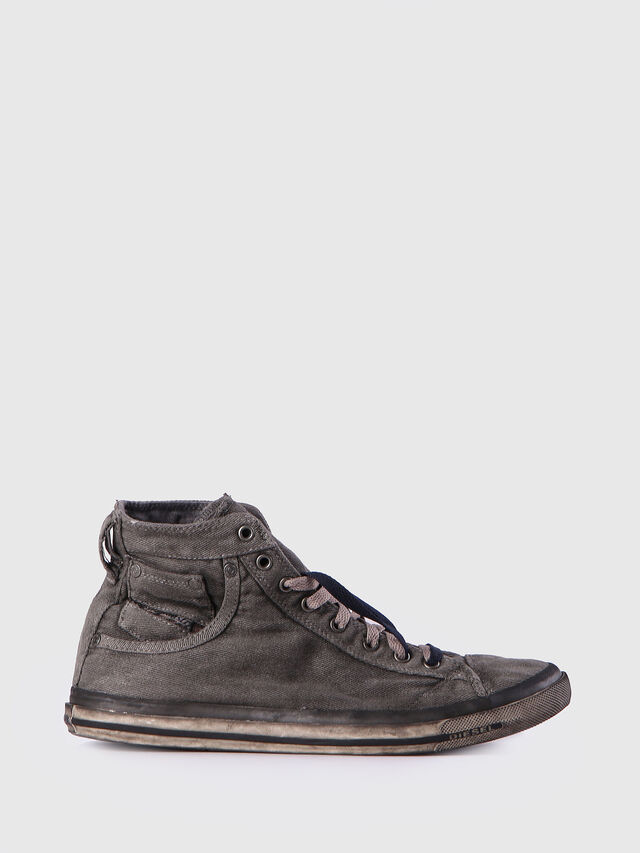 Diesel - EXPOSURE I, Grigio Metallizzato - Sneakers - Image 1