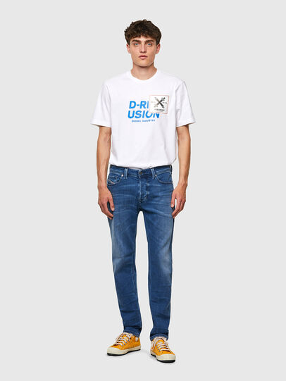 Diesel - Larkee-Beex 0097X, Blu medio - Jeans - Image 5