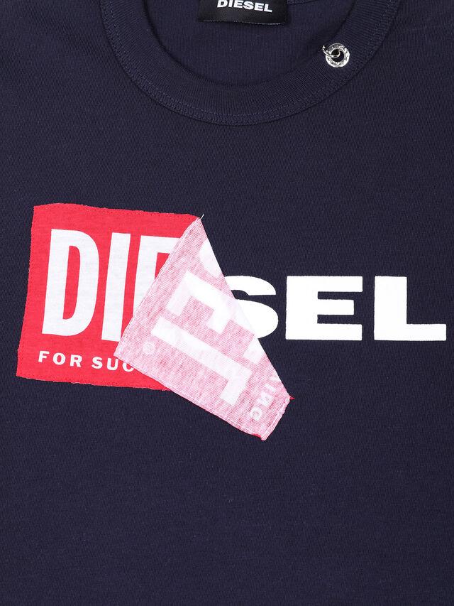 Diesel - TEDRI OVER, Blu Navy - T-shirts e Tops - Image 3