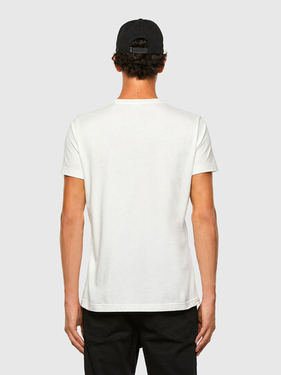 Diesel - T-WORKY-MOHI, Bianco - T-Shirts - Image 5