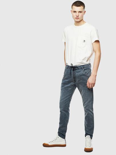 Diesel - Krooley JoggJeans 069LT, Blu Scuro - Jeans - Image 6