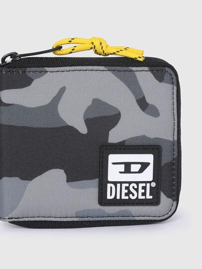 Diesel - ZIPPY HIRESH S II, Grigio/Nero - Portafogli Con Zip - Image 4