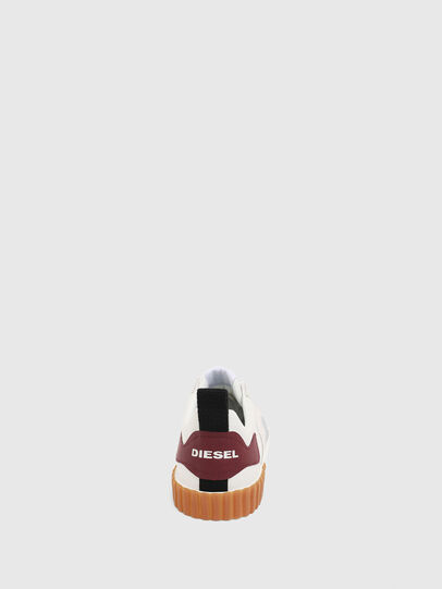 Diesel - S-BULLY LC, Bianco/Rosso - Sneakers - Image 7