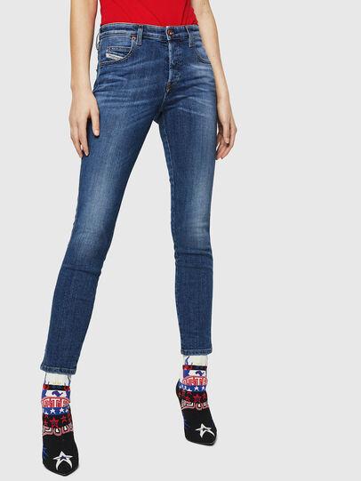 Diesel - Babhila 069FZ, Blu medio - Jeans - Image 1