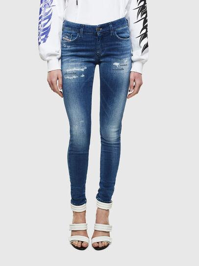 Diesel - Slandy 009IG, Blu medio - Jeans - Image 1