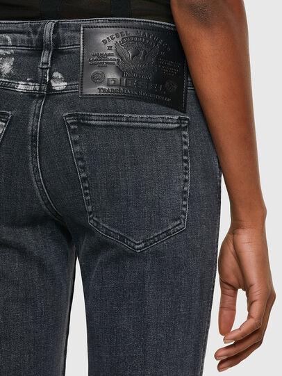 Diesel - Babhila 009RM, Nero/Grigio scuro - Jeans - Image 4