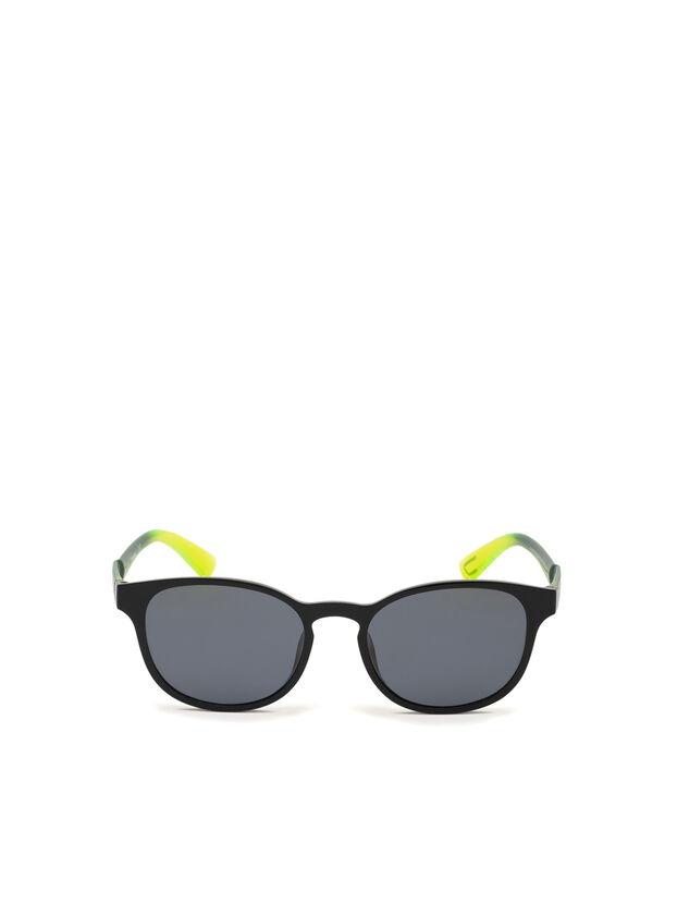 DL0328, Nero/Giallo - Occhiali da sole