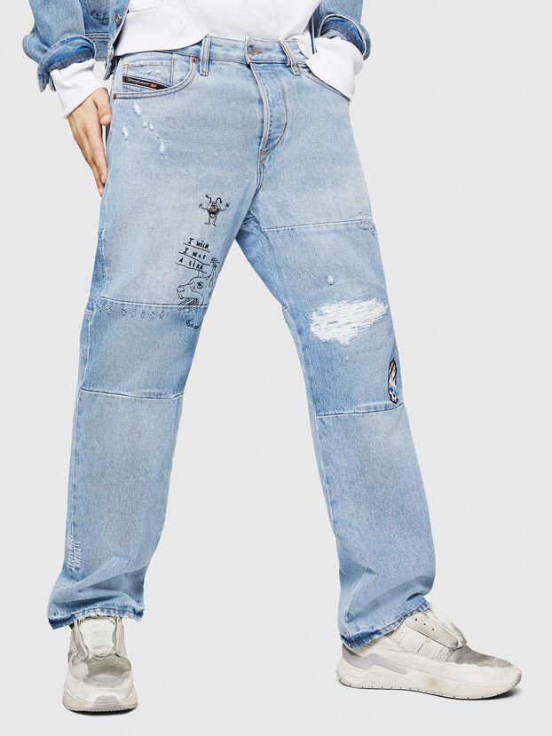 D-Kodeck 0078F, Blu Chiaro - Jeans