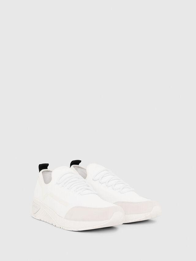Diesel - S-KBY STRIPE, Bianco - Sneakers - Image 2