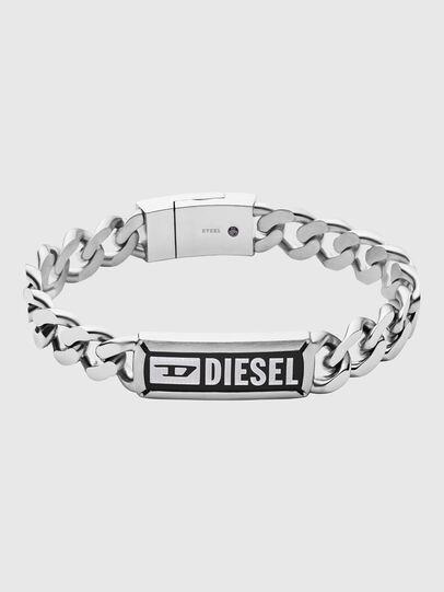 Diesel - DX1243, Argento - Braccialetti - Image 1