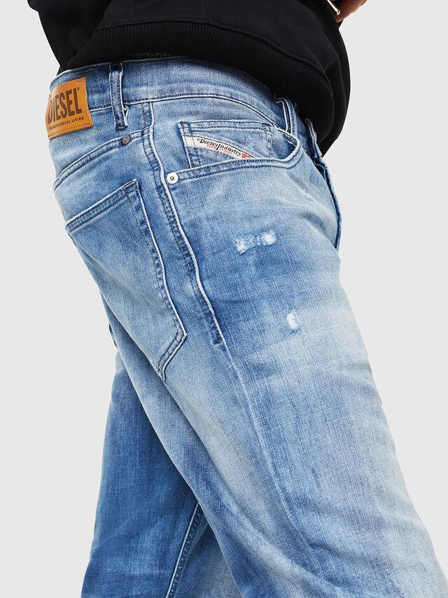 Diesel - D-Eetar 081AS, Blu Chiaro - Jeans - Image 4