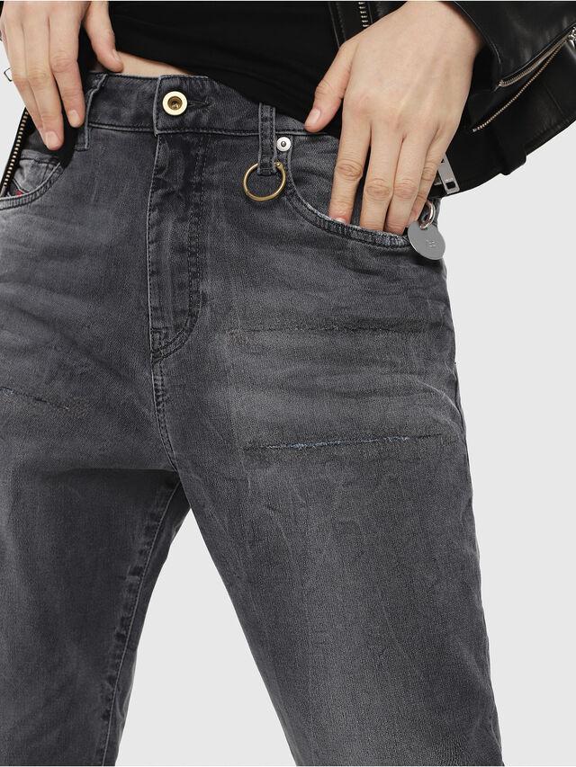 Diesel - Candys JoggJeans 069EP, Nero/Grigio scuro - Jeans - Image 3