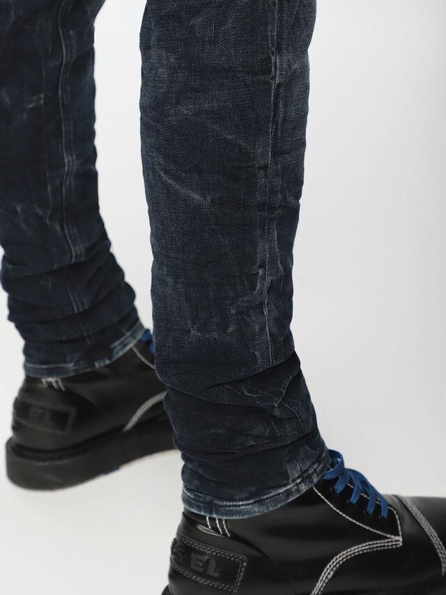 Diesel - Sleenker 084VR, Nero/Grigio scuro - Jeans - Image 5
