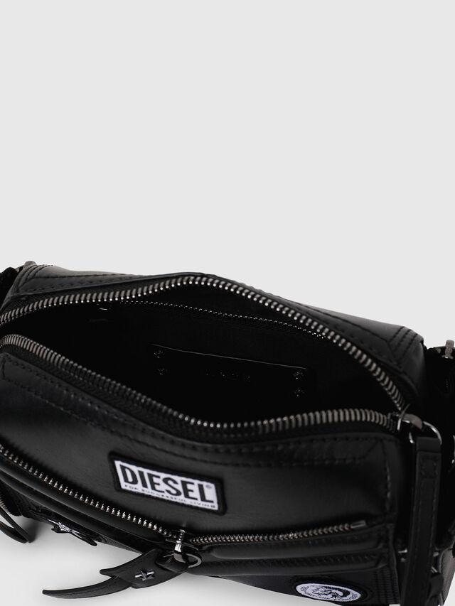 Diesel - LE-ZIPPER CROSSBODY, Nero - Borse a tracolla - Image 4