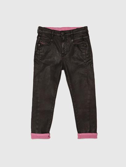 Diesel - D-FAYZA-J JOGGJEANS, Nero/Rosa - Jeans - Image 1