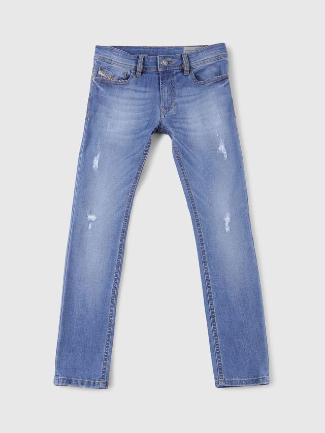 Diesel - SLEENKER-J-N, Blu Chiaro - Jeans - Image 1