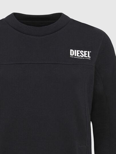 Diesel - UFLT-VICTORIAL, Nero - Felpe - Image 3