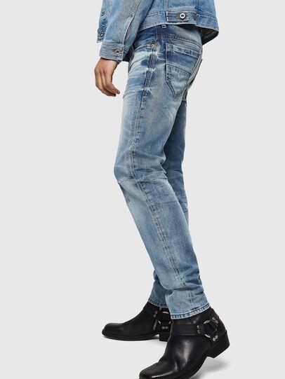 Diesel - Thommer 0092F, Blu Chiaro - Jeans - Image 5
