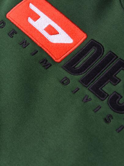 Diesel - SCREWDIVISION OVER, Verde Bottiglia - Felpe - Image 3
