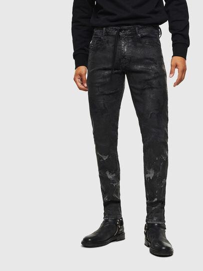 Diesel - Thommer JoggJeans 084AI, Nero/Grigio scuro - Jeans - Image 1