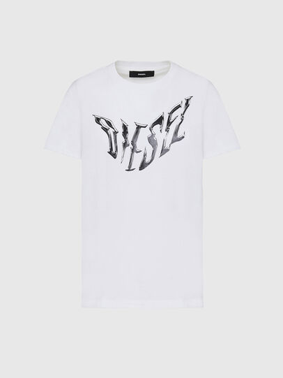 Diesel - T-SILY-K2, Bianco - T-Shirts - Image 1