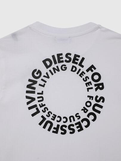 Diesel - TDIEGOSX46, Bianco - T-shirts e Tops - Image 4