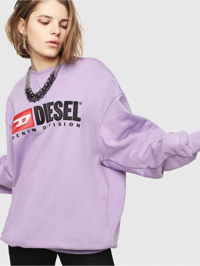 Diesel - F-ARAP, Lilla - Felpe - Image 1