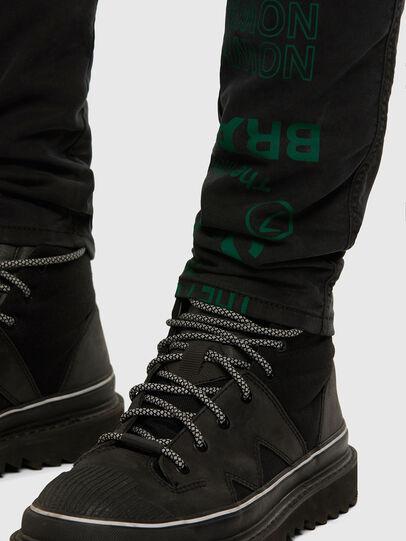Diesel - D-REEFT JoggJeans® 009HD, Nero/Grigio scuro - Jeans - Image 8