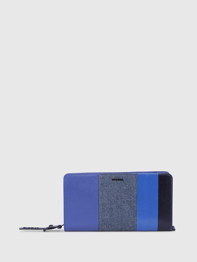 Diesel - NEW GRANATO LOOP, Blu - Portafogli Con Zip - Image 1