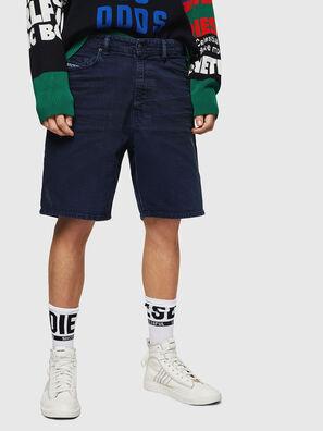 D-WILLOH, Blu Navy - Shorts