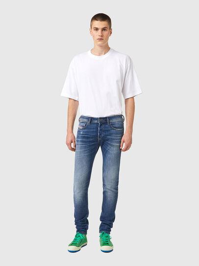 Diesel - Sleenker 09A86, Blu Chiaro - Jeans - Image 5