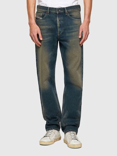 Diesel - D-Macs 009VK, Blu/Verde - Jeans - Image 1