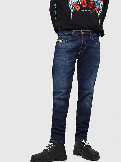 Diesel - D-Bazer 082AY, Blu Scuro - Jeans - Image 1