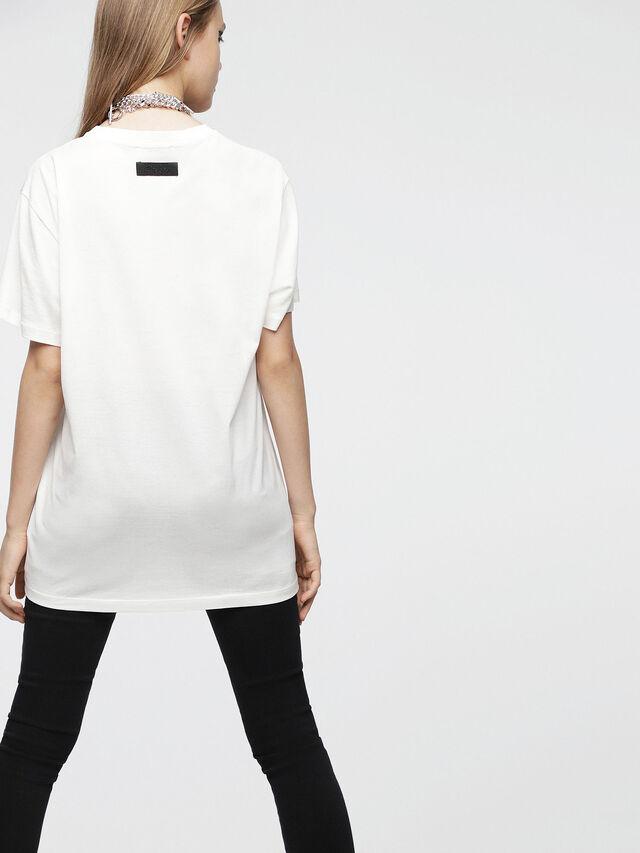 Diesel - T-DARIA-C, Bianco - T-Shirts - Image 2