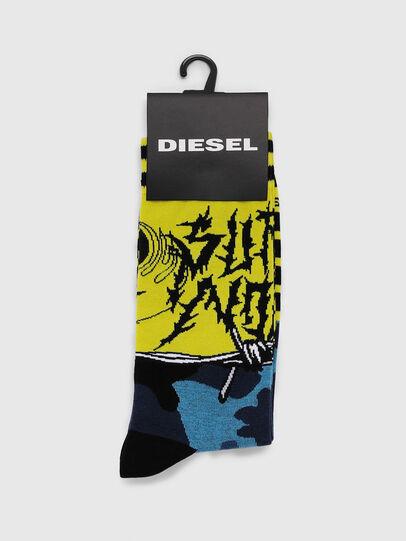 Diesel - SKM-RAY, Giallo - Calzini - Image 2