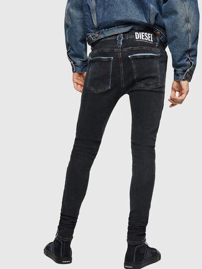 Diesel - D-Istort 0094B, Blu Scuro - Jeans - Image 2