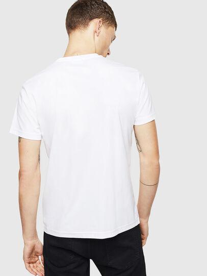 Diesel - T-DIEGO-J8, Bianco - T-Shirts - Image 3