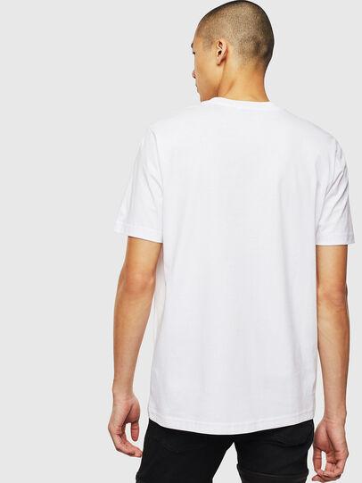 Diesel - T-JUST-J14, Bianco - T-Shirts - Image 2