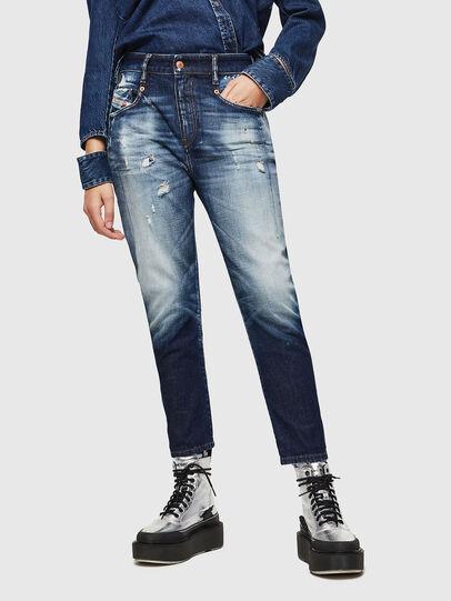 Diesel - Fayza 0092I, Blu Scuro - Jeans - Image 1