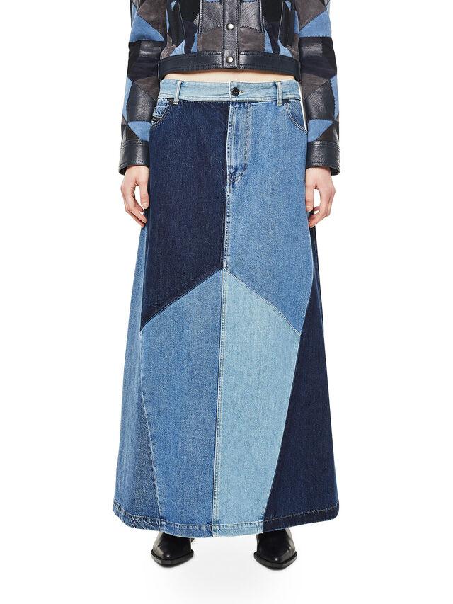 Diesel - ODETTE, Blu Jeans - Gonne - Image 1