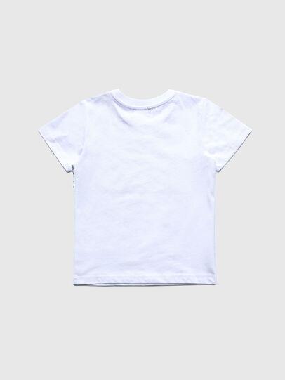 Diesel - TDIEGOS3B-R, Bianco - T-shirts e Tops - Image 2