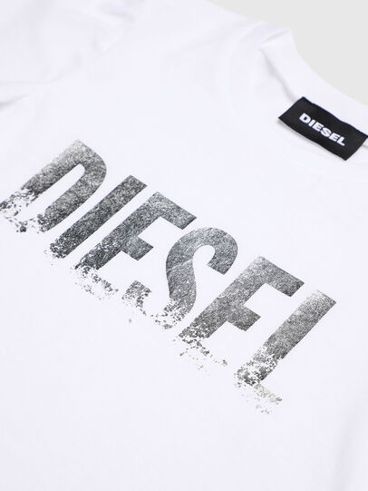 Diesel - TRALLYB-R, Bianco - T-shirts e Tops - Image 3