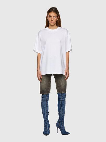 Diesel - T-SHARP, Bianco - T-Shirts - Image 4