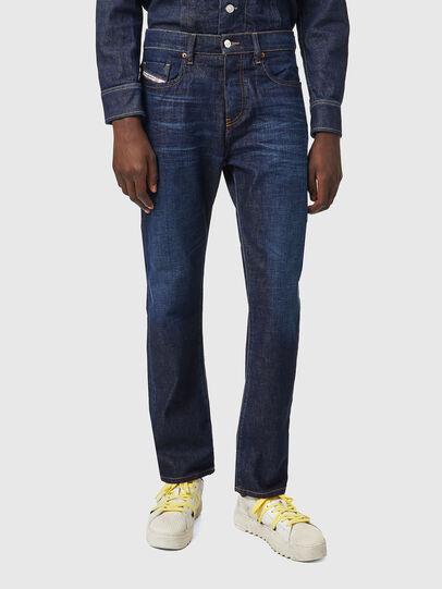 Diesel - D-Viker 09A12, Blu Scuro - Jeans - Image 1